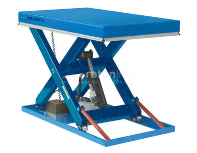Single scissor table