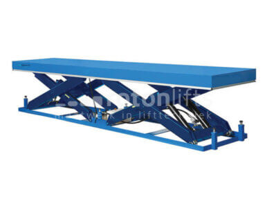 twin scissor table