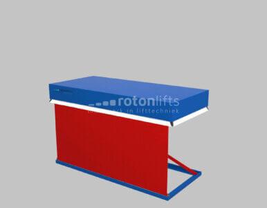 Heftafel PVC rolgordijn